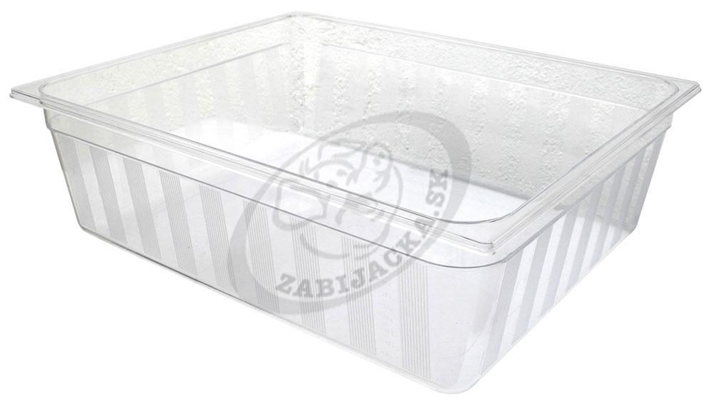 Gastronádoby polykarbonátové GNP 2/1